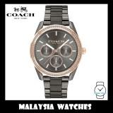 (100% ORIGINAL) Coach Ladies' 14503214 Preston Grey Dial Grey Stainless Steel Watch