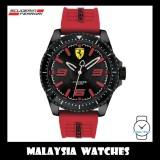 (100% Original) Scuderia Ferrari Men's 0830498 XX Kers Watch (Black & Red)