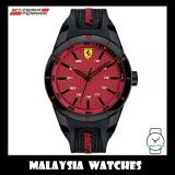 (100% Original) Scuderia Ferrari Men's 0830248 Redrev Watch (Black & Red)