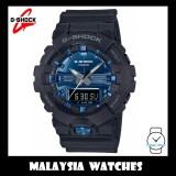 (OFFICIAL WARRANTY) Casio G-SHOCK GA-810MMB-1A2 SPECIAL COLOR MODEL Garish Blue Analog-Digital Men's Resin Watch