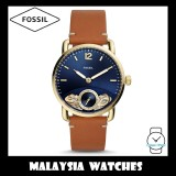 (OFFICIAL WARRANTY) Fossil Men's ME1167 The Commuter Twist Luggage Leather Watch