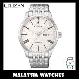 (100% Original) Citizen Gents NH8350-59A Mechanical White Dial Stainless Steel Automatic Watch