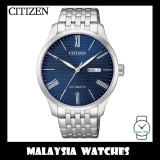 (100% Original) Citizen Gents NH8350-59L Mechanical Blue Dial Stainless Steel Automatic Watch