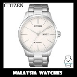 (100% Original) Citizen Gents NH8350-83A Mechanical White Dial Stainless Steel Automatic Watch