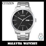 (100% Original) Citizen Gents NH8350-83E Mechanical Black Dial Stainless Steel Automatic Watch