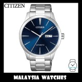 (100% Original) Citizen Gents NH8350-83L Mechanical Blue Dial Stainless Steel Automatic Watch