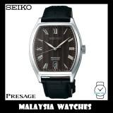Seiko Presage SRPD07J1 Dark Brown Dial Automatic Gents Sapphire Glass Tonneau Watch