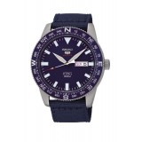 Seiko 5 Sports Men's Blue Nylon Strap Automatic Watch SRP665K1 (Blue)