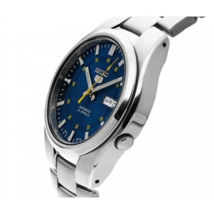 reputable site 92480 cd63f Seiko 5 SNK615K1 Automatic See-thru Back Blue Dial Gents ...