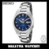 Seiko 5 SNK615K1 Automatic See-thru Back Blue Dial Gents Stainless Steel Watch