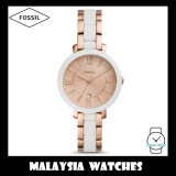 (OFFICIAL WARRANTY) Fossil Women's ES4588 Jacqueline Rose Gold-Tone Stainless Steel Watch