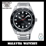 Seiko 5 Sports Gents SRPB91K1 Automatic Black Sunray Dial Stainless Steel Watch