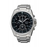 Seiko Men's Gents Chronograph Silver Stainless Steel Strap Watch SNDD63P1 (Silver)