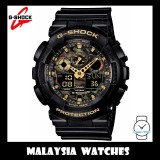 (OFFICIAL WARRANTY) Casio G-SHOCK GA-100CF-1A9DR SPECIAL COLOR MODEL Analog-Digital Men's Resin Watch