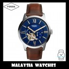 (OFFICIAL WARRANTY) Fossil Men's ME3110 Townsman Automatic Brown Leather Watch