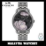 (100% ORIGINAL) Coach Ladies' 14503165 Delancey Analog Gunmetal Grey Stainless Steel Watch TWO (2) Years International Warranty