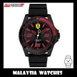 (100% Original) Scuderia Ferrari Men's 0830465 XX Kers Watch (Black & Red)