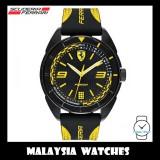 (100% Original) Scuderia Ferrari Men's 0830516 Forza Watch (Black & Yellow)