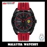 (100% Original) Scuderia Ferrari Men's 0830544 Forza Watch (Black & Red)
