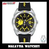 (100% Original) Scuderia Ferrari Men's 0830575 Forza Watch (Black & Yellow)