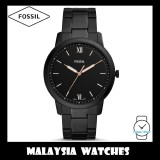 (OFFICIAL WARRANTY) Fossil Men's FS5526 The Minimalist Three-Hand Black Stainless Steel Watch