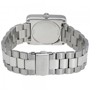 (OFFICIAL WARRANTY) Fossil Women's ES4157 Atwater Silver-Tone Stainless Steel Watch