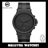 (100% Original) MICHAEL KORS Men's MK8279 Dylan Chronograph Black Stainless Steel Watch