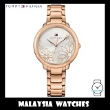 (100% Original) Tommy Hilfiger Women's 1781780 Leila Rose Gold-Tone Stainless Steel Watch