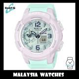(OFFICIAL WARRANTY) Casio Baby-G BGA-230PC-6B Standard Analog-Digital Women's Pastel Mint Resin Watch BGA230PC-6B