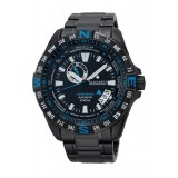 Seiko Superior SSA115K1 Gents Automatic Watch (Limited Edition) (Black & Blue)