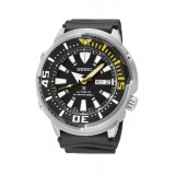 Seiko Prospex Automatic Diver's 200M SRP639K1 Rubber/Resin Strap Gents Watch (Black & Yellow)