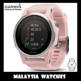 (OFFICIAL WARRANTY) Garmin Fenix 5S Pink Meringue Sapphire GPS Watch with Pink Band