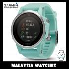 (OFFICIAL WARRANTY) Garmin Fenix 5S Frost Blue Sapphire GPS Watch with Frost Blue Band