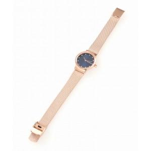 (100% Original) Skagen Ladies SKW2740 Freja Rose-Tone Steel-Mesh Watch (2 Years International Warranty)
