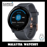 (OFFICIAL WARRANTY) Garmin Vivoactive 3 Music GPS Smartwatch with Music Storage and Playback (Granite Blue)