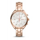 Fossil CH2977 Land Racer Chronograph Rose-Tone Stainless Steel Watch