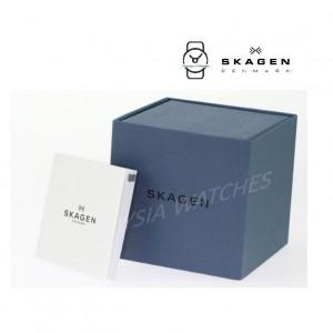 (100% Original) Skagen Unisex SKW2763 Aaren Kulør Snow White Silicone Watch (2 Years International Warranty)