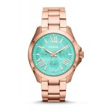 Fossil AM4540 Cecile Multifunction Rose-Tone Stainless Steel Watch