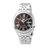 Seiko 5 SNKL33K1 Automatic See-thru Back Stainless Steel Bracelet Gents Watch