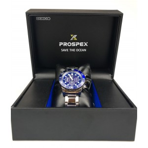 Seiko Prospex SSC675P1 Solar Chronograph Diver's 200M 'Save The Ocean' Special Edition Gents Watch