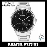 (100% Original) Citizen Gents NJ0090-81E Mechanical Black Dial Super Titanium Sapphire Glass Automatic Watch