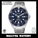 (100% Original) Citizen Gents BN0201-88L Promaster Eco Drive 200m Scuba Divers' Solar Super Titanium Watch