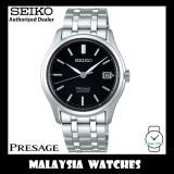 "Seiko Presage SRPD99J1 ""Zen Garden"" Made in Japan Black Dial Sapphire Glass Automatic Stainless Steel Watch"