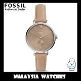 (OFFICIAL WARRANTY) Fossil Women's ES4664 Kalya Three-Hand Blush Leather Watch