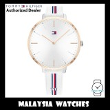 (100% Original) Tommy Hilfiger Ladies 1782156 Alexa Analogue Casual White Silicone Watch (2 Years International Warranty)