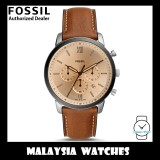 (OFFICIAL WARRANTY) Fossil Men's FS5627 Neutra Chronograph Brown Leather Watch (2 Years Fossil Warranty)