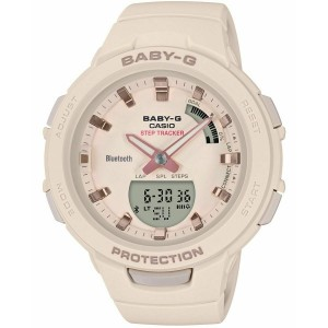 (OFFICIAL WARRANTY) Casio Baby-G BSA-B100-4A1 G-Squad Step Tracker Bluetooth Women's Resin Watch BSAB100-4A1