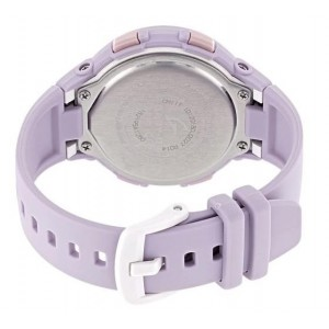 (OFFICIAL WARRANTY) Casio Baby-G BSA-B100-4A2 G-Squad Step Tracker Bluetooth Women's Purple Resin Watch BSAB100-4A2