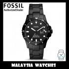 (OFFICIAL WARRANTY) Fossil Men's FS5659 FB-01 Three-Hand Date Black Steel Watch (2 Years Fossil Warranty)