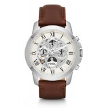 Fossil ME3027 Grant Automatic Brown Leather Watch